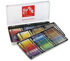 Caran d'Ache Neocolor 2 Water Soluble Wax Crayons