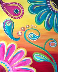 PAINT A TREASURE Paint Night Party Hamilton | Adult Canvas - Central NJ
