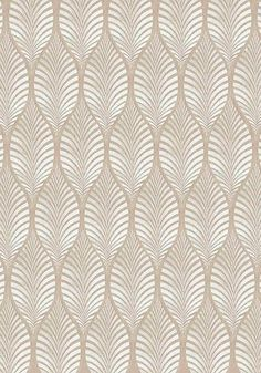 Deilen embroidery woven fabric in Cream on Natural Linen:
