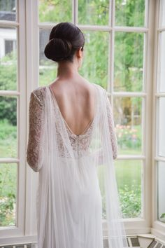 Bridal Cape Veil - a modern take on the classic bridal veil. The Janna draped bridal cape was designed with the contemporary bride in mind. Made from soft English Net, it is detachable. Shipped from Canada. Wedding Cape Veil, Bridal Cape, Wedding Gowns, Wedding Hair, Wedding Ceremony, Bridal Dresses, Bridal Cover Up, Bridesmaid Outfit, Bridal Style