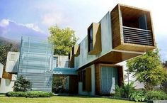 Shipping Container Homes Design Inspiration 9 Inspiring Modular Container Home Designs Container Living - Interior Design Ideas & Home Decorating Inspiration - moercar Building Structure, Building A House, Illustration Book, Fachada Colonial, Shipping Container Home Designs, Shipping Containers, Design Exterior, Casas Containers, Interior Design Inspiration