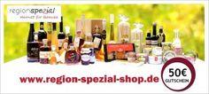 Geschenk-Gutschein 50€ region-spezial-shop.de Geschenkidee