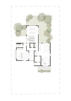 Imagen 16 de 18 de la galería de Casa Caja / Ming Architects. 3rd Floor Plan
