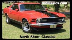 1970 Ford Mustang -MACH 1- M-CODE- 351-4-SPEED MANUAL