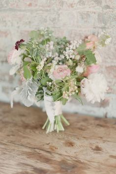 pastel infused bouquet  Photography by elisabethmillay.com,  Floral Design by saipua.com