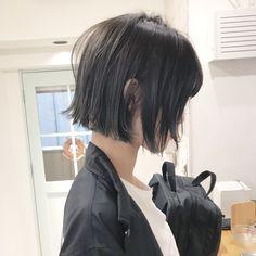 Haircuts For Long Hair, Short Hair Cuts, Bob Hairstyles, Straight Hairstyles, Japanese Short Hair, Androgynous Haircut, Medium Hair Styles, Long Hair Styles, Shot Hair Styles