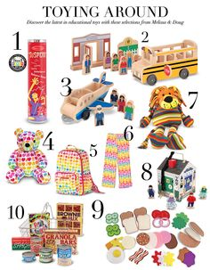 Toying Around - Discover the latest in educational toys with these selections from Melissa & Doug