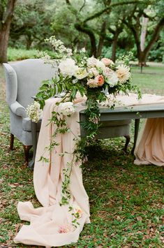 Ideas for the Sweetheart table with black draping fabric.