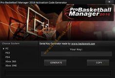 Pro Basketball Manager 2016 Free Code Generator | www.HacksWork.com