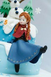 Bakerbyte #Frozen Cake, Ana