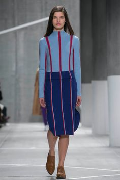 A look from the fall 2015 Lacoste show during New York fashion Week. (Photo: Nowfashion)
