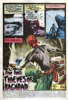 """Diversions of the Groovy Kind: Random Reads: """"The Two Thieves of Baghdad"""" by Morrow, Hama, and Alcazar"""