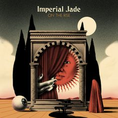 On The Rise by Imperial Jade, released 22 December 2018 You Ain't Seen Nothing Yet Dance Sad For No Reason The Call Glory Train Lullaby in Blue Keep me Singing Heat Wave Rough Seas Struck by Lightning Cover Art, Imperial Jade, Psychedelic Rock, Magritte, Music Covers, Grafik Design, Friends In Love, Oeuvre D'art, Collage Art
