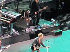 Jon Bon Jovi at Soldier Field in Chicago, July 2010.