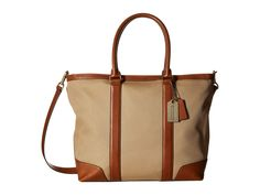 COACH Bleecker Archival Twill Business Tote