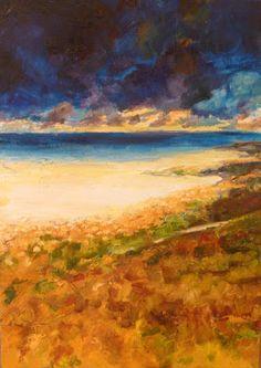 28 miles   2012 Oil on canvas   500 x 700 #RosKochArt