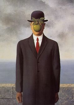 Renè Magritte Uomo con mela