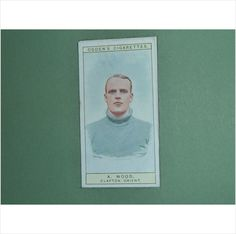 A WOOD CLAPTON ORIENT SINGLE CIGARETTE CARD NO 13 OGDEN'S 1926 Tilleys of Shef