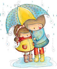 Imagenes bonitas de niños y niñas - Imagenes y dibujos para imprimir