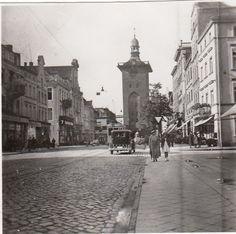 Alter Markt in Elbing. (30er Jahre)