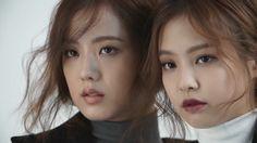 "krystal: ""Jennie & Jisoo for Moonshot "" South Korean Girls, Korean Girl Groups, Rapper, Taehyung Gucci, Blackpink Debut, Kpop Couples, Blackpink And Bts, Blackpink Fashion, Jennie Blackpink"