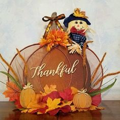Image may contain: flower Fall Arts And Crafts, Autumn Crafts, Thanksgiving Crafts, Thanksgiving Decorations, Holiday Crafts, Fall Mesh Wreaths, Door Wreaths, Grapevine Wreath, Crafts For Seniors