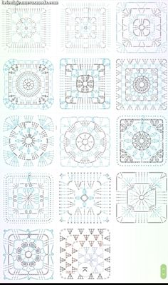 grannysquare,GrannyThrow-Transcendent Crochet a Solid Granny Square Ideas. Inconceivable Crochet a Solid Granny Square Ideas. Granny Square Crochet Pattern, Crochet Diagram, Crochet Chart, Crochet Squares, Crochet Blanket Patterns, Love Crochet, Crochet Motif, Crochet Afghans, Crochet Flowers