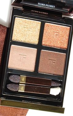 Tom Ford Golden Mink Eye Color Quad: Review, Ingredients, Swatches, Comparisons and Pictures