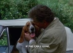 columbo and dog pics Basset Hound For Sale, Basset Hound Dog, Big Dogs, Dogs And Puppies, Doggies, Columbo Tv Series, Columbo Peter Falk, Dog Quotes, Funny Quotes