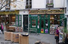 Celebrating the Centennial of Shakespeare and Company Attic Reading Nook, Book Club Recommendations, Shakespeare And Company, Books You Should Read, The Big Lebowski, Go Outside, City Lights, Street View, Warm