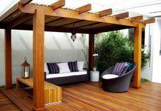10 ideas de pérgolas para el jardín