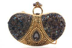 Image detail for -Ringed Indian Designer Clutch | Strandofsilk.com - Indian Designers