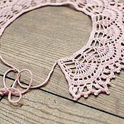 Handmade accessories.  Fair Masters - handmade copy of the work openwork collar 6. Handmade.