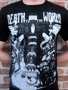 """Crucified"" t-shirt from Death To The World."