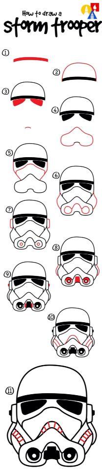 Storm trooper tutorial …
