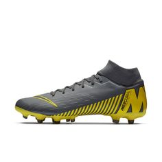 cd1ddba7a Nike Mercurial Superfly 6 Academy MG Multi-Ground Soccer Cleat Size 9 (Dark  Grey)