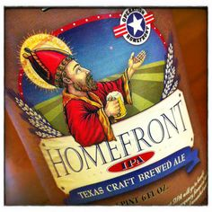 Homefront IPA by Saint Arnold Brewing.