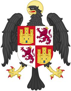 Coat of Arms of Isabella of Castile as Princess of Asturias - Eagle (heraldry) - Wikipedia