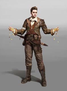 ArtStation - Treasure Hunter, 이 후광