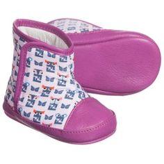 4821b0d0e3cd Fendi - Girls Purple  FF Monster  Pre-Walker Boots