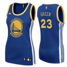 5b70e4b1f Golden State Warriors adidas Women s Replica Draymond Green  23 Road Jersey  - Royal - Click