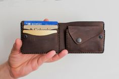 SALE, Personalized leather wallet, Leather wallet woman, Men leather wallet coin personalized, Mens coin purse, Mans billfold