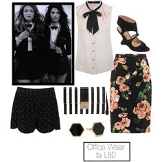 Office Freindly, created by larabunting on Polyvore