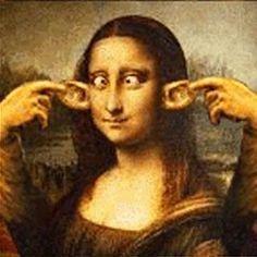 Funny of Mona Lisa Parodys - Bing Imágenes