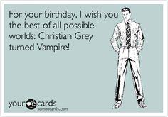 hahaha!! @Kristen Benz @Natasha Mendoza...or maybe even werewolf?? Alcide anyone? lol or Eric Northman??