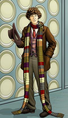 The Fourth Doctor, Tom Baker by *PaulHanley on deviantART (my first doctor.)