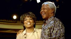 In this clip from The Oprah Winfrey Show, Nelson Mandela, the former South African president, explains how instead of embracing hatred and bitterness, he used his time in prison to look inward and focus on changing himself. Nelson Mandela, Inspirer Les Gens, First Black President, Black Presidents, Influential People, My People, Popular People, Oprah Winfrey, African American History