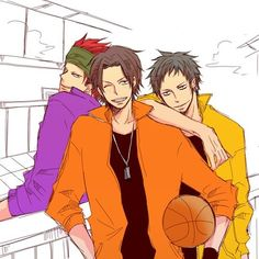 Ace Law Kid -- (in another time, in another world, these are Luffy's older brother and his brother's friends)