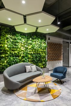 Browse and discover thousands of office design and workplace design photos - tagged and curated to make your search faster and easier. Cool Office Space, Office Space Design, Modern Office Design, Workspace Design, Office Interior Design, Office Interiors, Modern Offices, Modern Office Spaces, Office Ceiling Design
