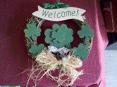 "St Patrick Door Reef in Thrifty_Tiffys' Garage Sale in Avondale , AZ for $5.00. St Patrick's Day Door Reef to represent your ""Irish Pride"""